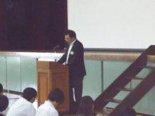 薬物乱用防止教室講演会